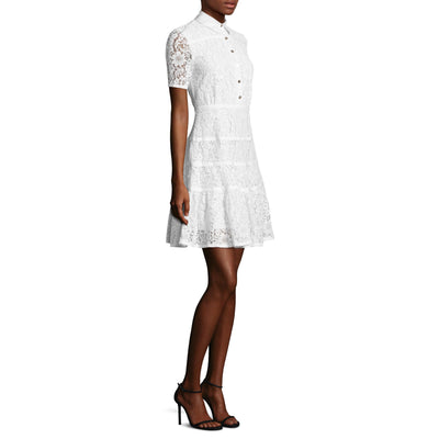Meadow Lace Shirtdress