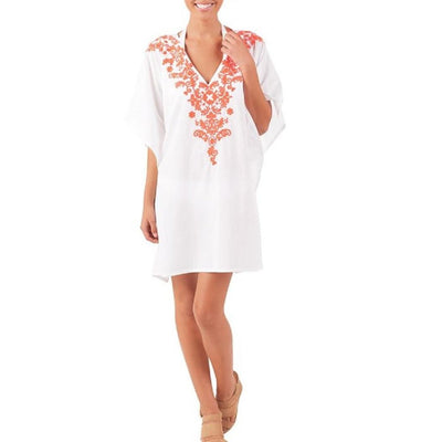 One Size Gwen Caftan Cover Up