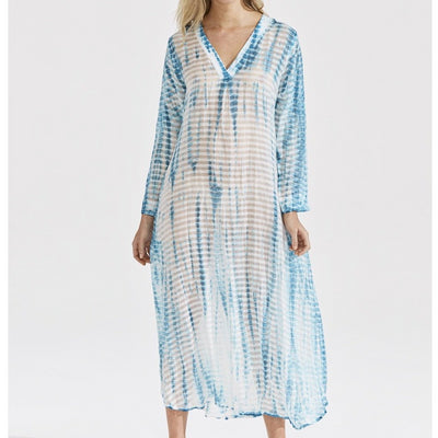Stripe Tie Dye Jess Dress