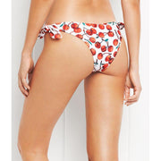 Cherry Cheeky Tie Bikini Bottom