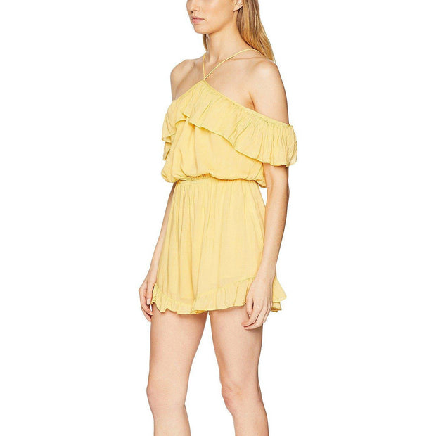 Celine Off Shoulder Playsuit
