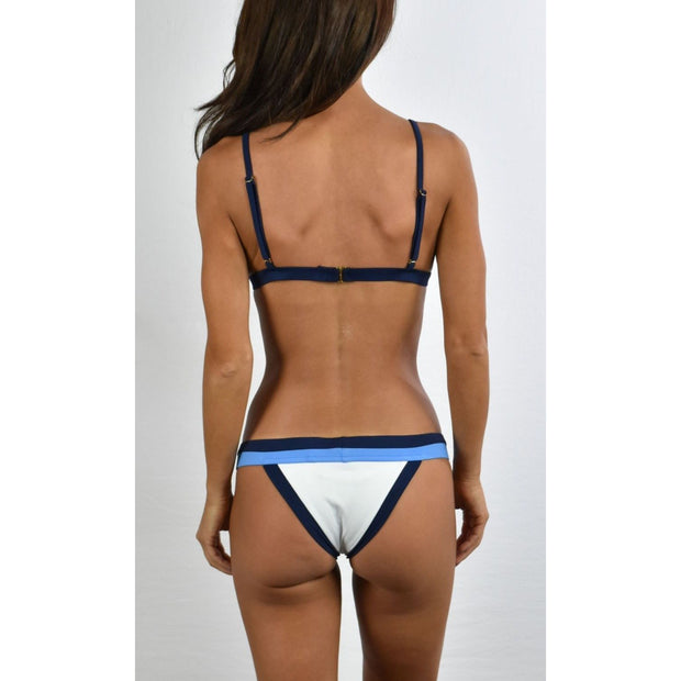 Amalfi Colorblock Triangle Bikini Top