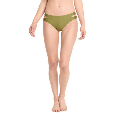 Art Deco Side Cutout Bikini Bottom