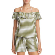 Striped Covers Romper