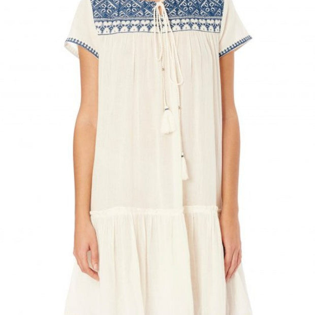 Isla Embroidered Dress