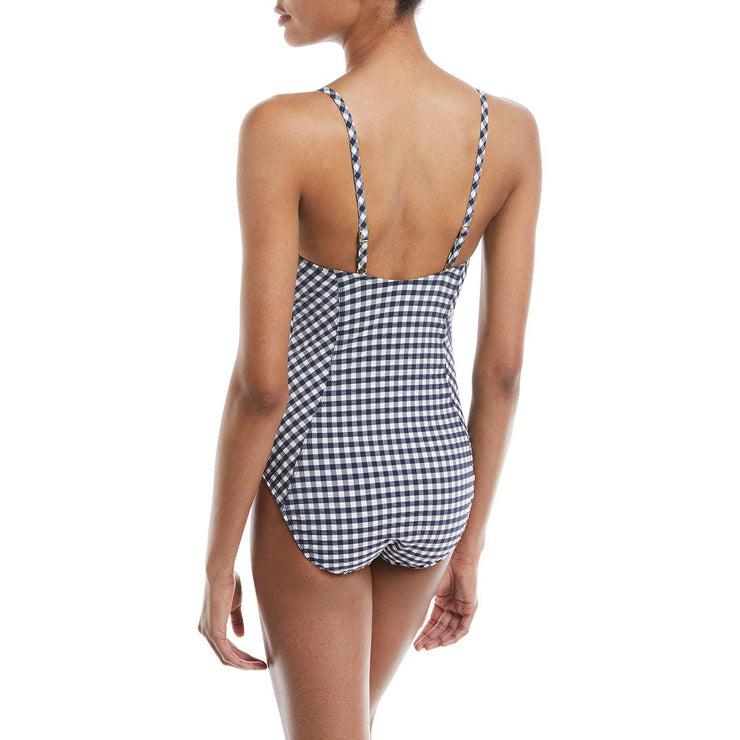 Gingham One Piece