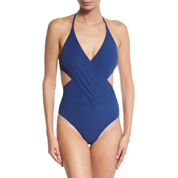 Solid Wrap One Piece