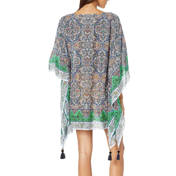 Grand Voyage Printed Beach Caftan