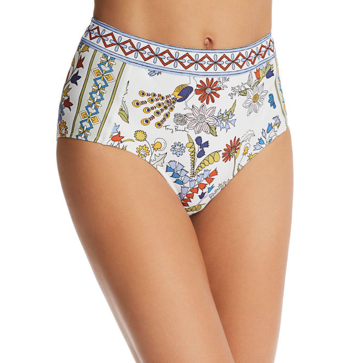 Meadow Folly High Waisted Bikini Bottom