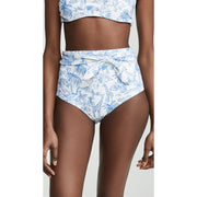 Far and Away High Waisted Bikini Bottom