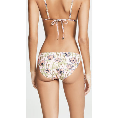 Pink Poppies Bloom Hipster Bikini Bottom