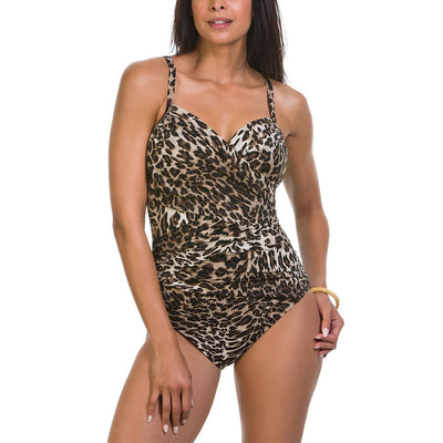 Criss Cross Maillot One Piece