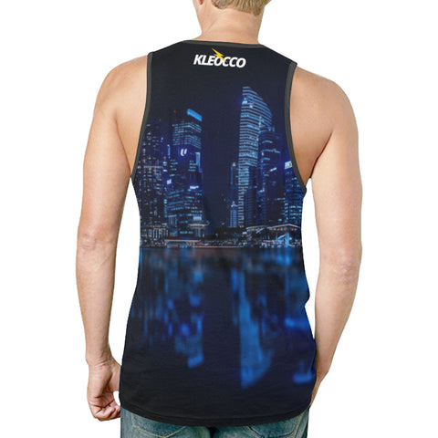 Illuminated Cityscape - Tank Top