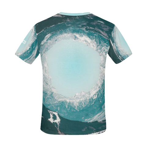 Nature & Beach Men's All Over Print Mesh T-shirt (USA Size) (Model T40)