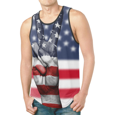 US Flag -Tank Top