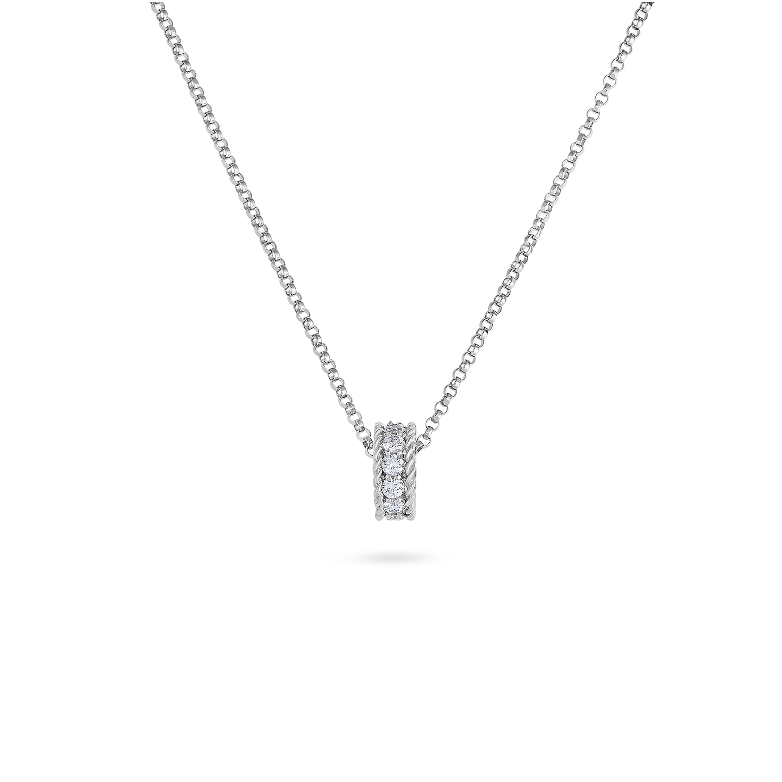 bridge diamond jewelry roberto drop pendant ben coin