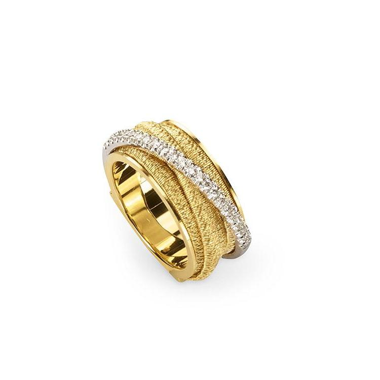 A Marco Bicego ring with diamonds, part of his Cairo collection Santa Fe Jewelry