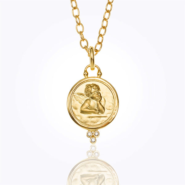An Angel Pendant by Temple St. Clair Santa Fe Jewelry
