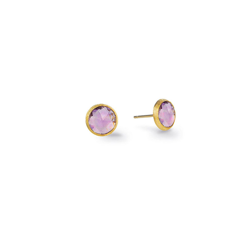 A pair of diamond stud earrings by Marco Bicego Santa Fe Jewelry.
