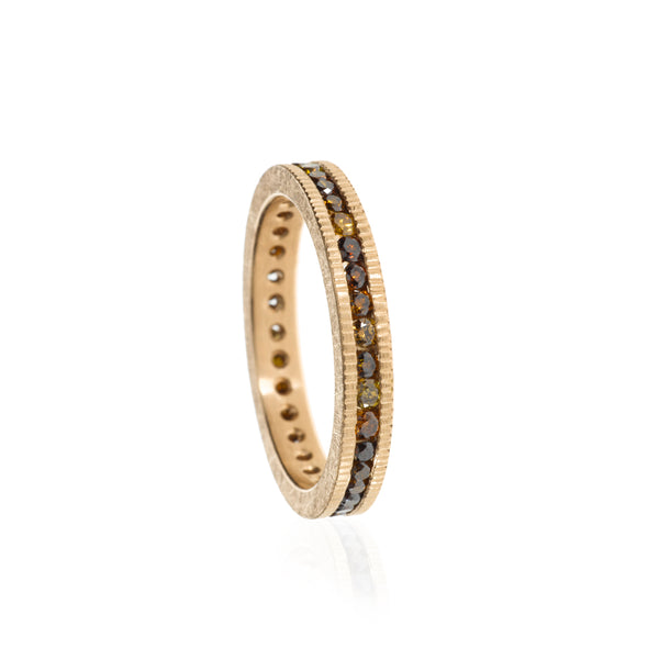 A todd reed autumn diamond eternity band Santa Fe Jewelry