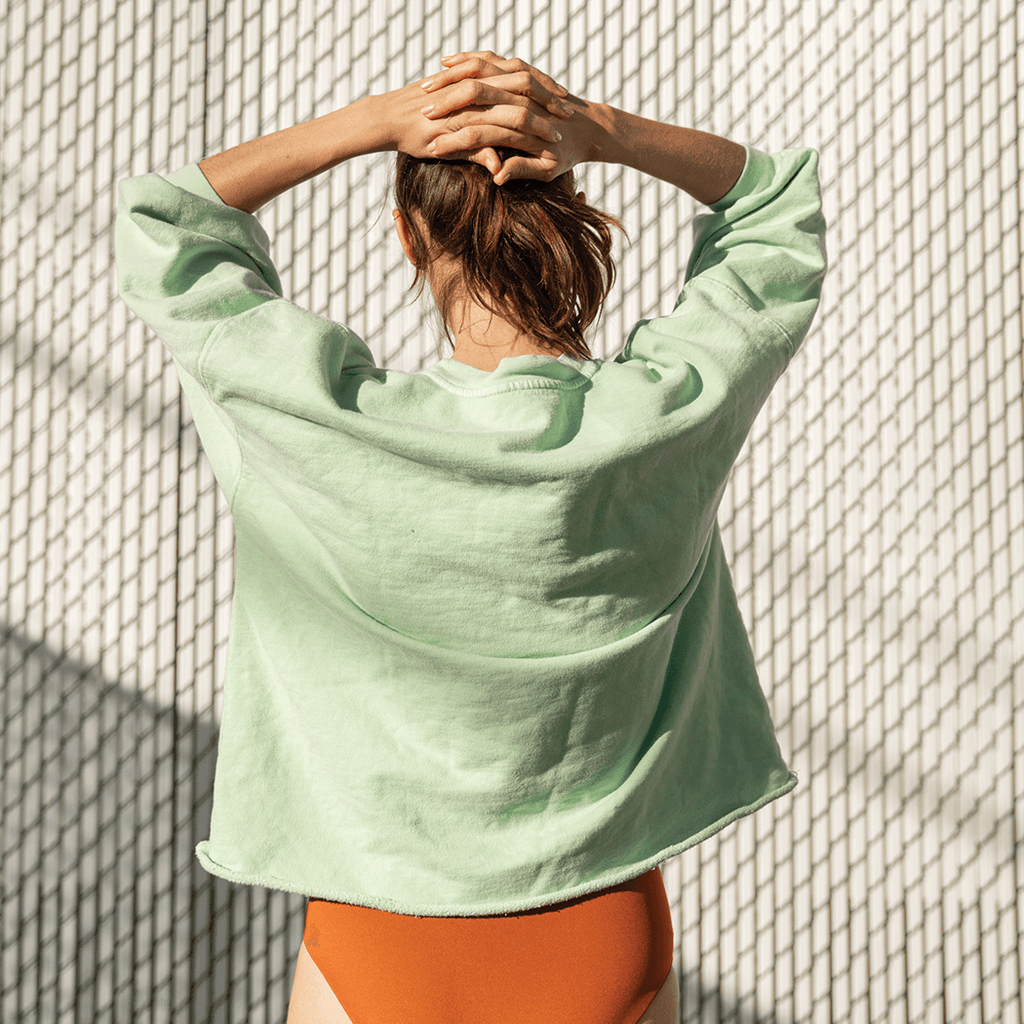 Sports & Rec Sweatshirt - Mojito + Hi Tide Bottom - Bronze