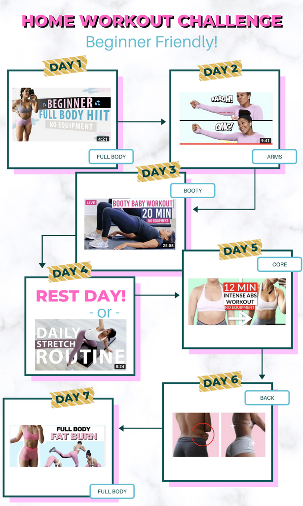 NEW Free Workout Challenge