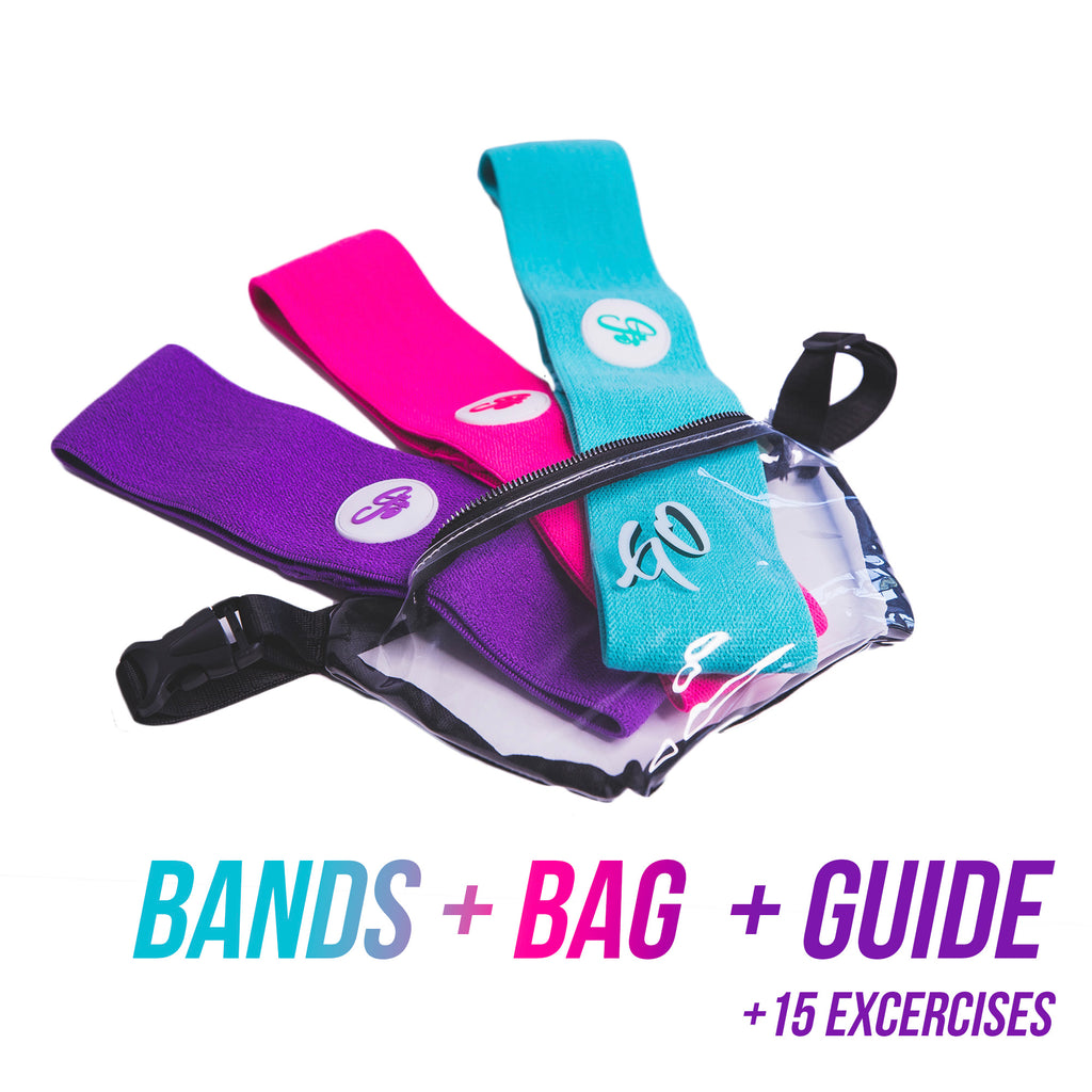 Resistance Bands (3-Pack) + Pouch