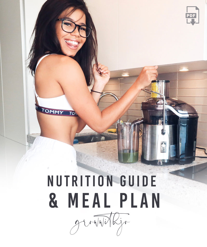 NUTRITION GUIDE & MEAL PLAN