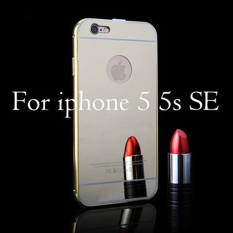 0bd2df51e4 Luxury Mirror Case For Iphone 7 6 6s Plus 5 5s SE – NRI Gift Store