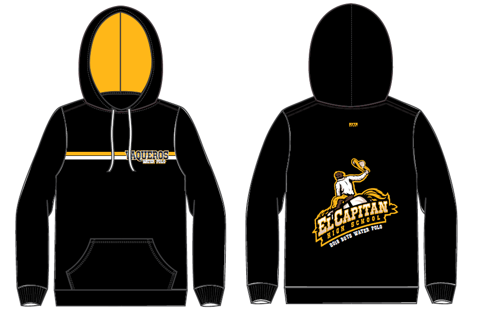 El Capitan High School Water Polo Unisex Hooded Sweatshirt
