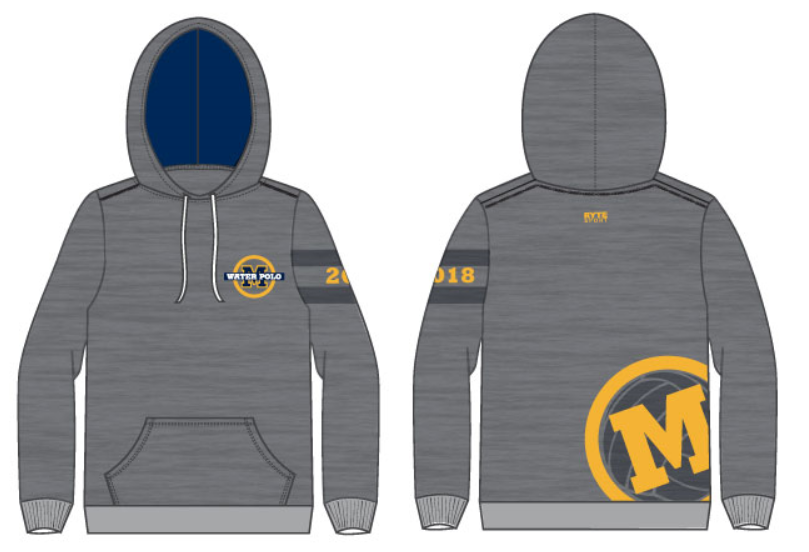 Menlo School Girls Water Polo Unisex Hooded Sweatshirt