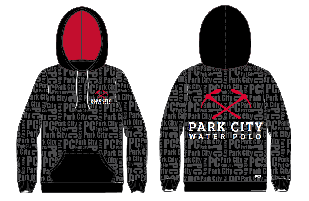 Park City Water Polo Club Youth Unisex Hooded Sweatshirt