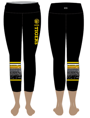 Lick-Wilmerding High School Custom Women's Cropped Legging