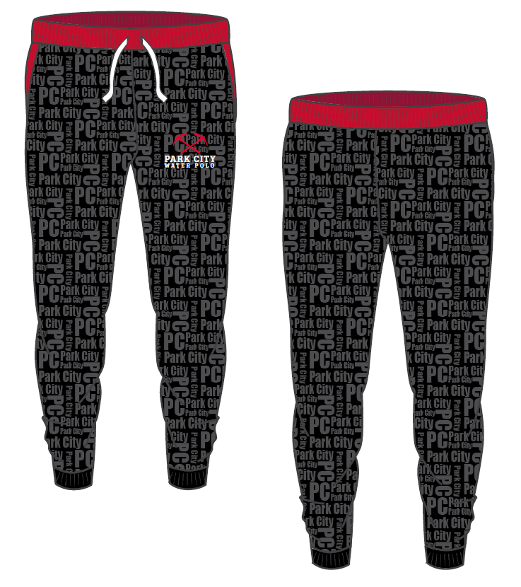 Park City Water Polo Club Custom Adult Unisex Jogger
