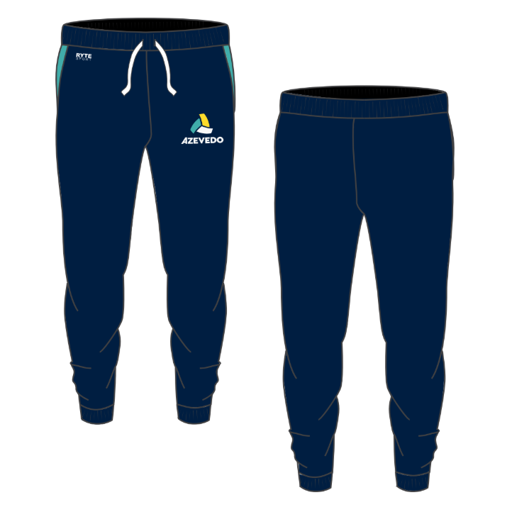 Azevedo Water Polo Navy Adult Unisex Jogger Sweatpants