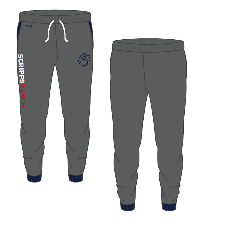 Scripps Ranch High School Adult Unisex Jogger Sweatpant