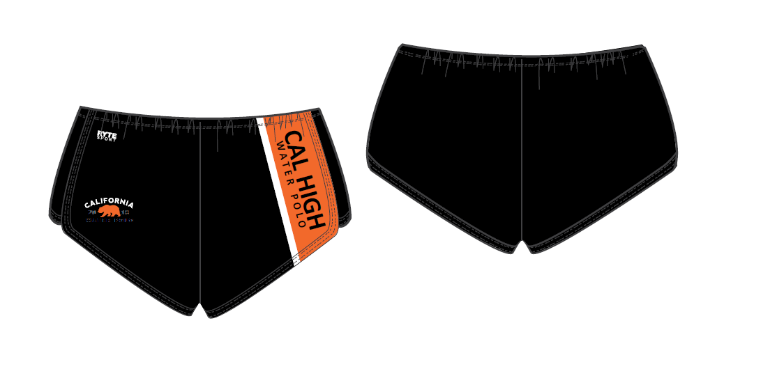 California High School Girls Water Polo Custom Women's Walk Short