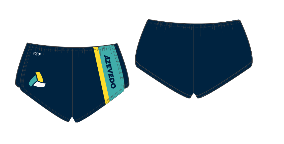 Azevedo Water Polo Navy Women's Walk Short