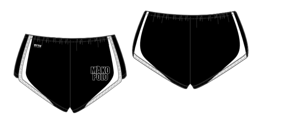 Mako Water Polo Club Custom Women's Walk Short