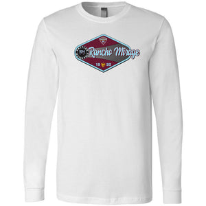 Rancho Mirage High School Water Polo 2019 Custom White Long Sleeve T-Shirt
