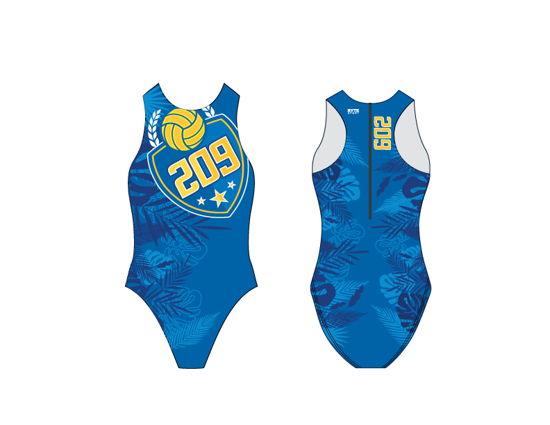 209 Water Polo Club 2019 Custom Women's Water Polo Suit
