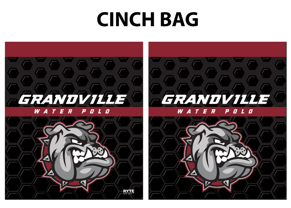 Grandville High School Water Polo Cinch Bag
