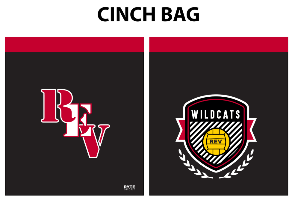 Redlands East Valley High School Water Polo Cinch Bag