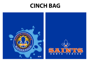 Santa Teresa Water Polo Custom Cinch Bag