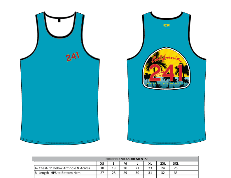 241 Water Polo Club Men's Tank Top