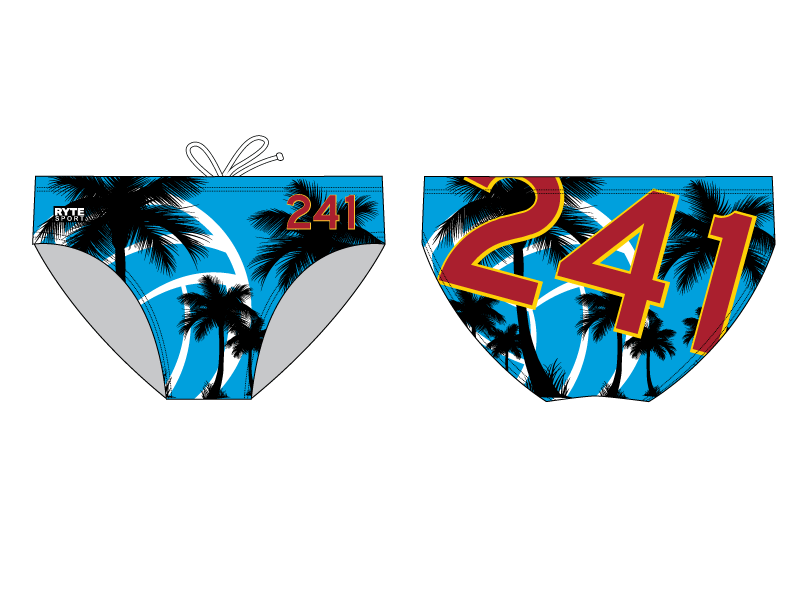 241 Water Polo Club Water Polo Brief