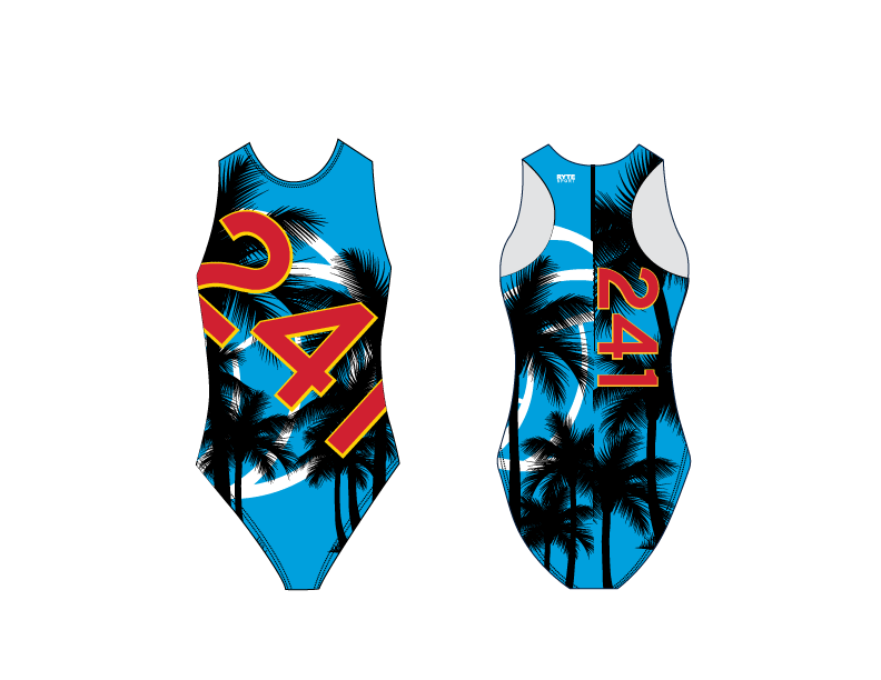 241 Water Polo Club Women's Water Polo Suit