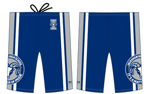 Ingraham High School Custom Men's Swim Jammer