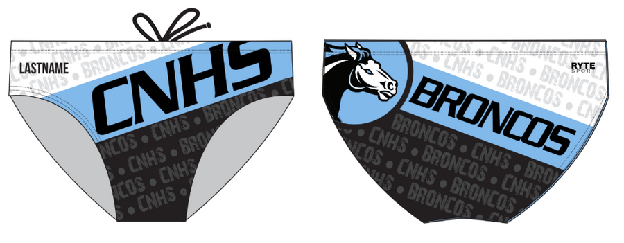 Clovis North High School Custom Men's Water Polo Brief