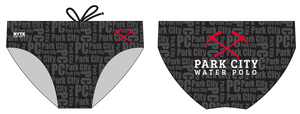 Park City Water Polo Club Custom Men's Swim & Water Polo Brief